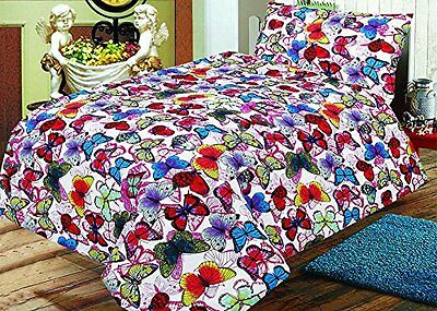 Cotton Rich Cot Bed Duvet Cover And Pillowcase - Blanca