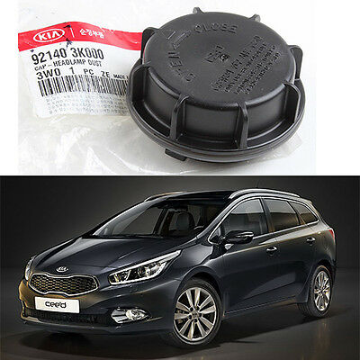 Head Lamp Light Dust Cap Cover 1ea for KIA CEED 2007-2012 GENUINE OEM 921403K000