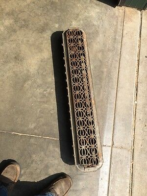 Rt 14 Antique Decorative Cast-Iron Radiator Cover