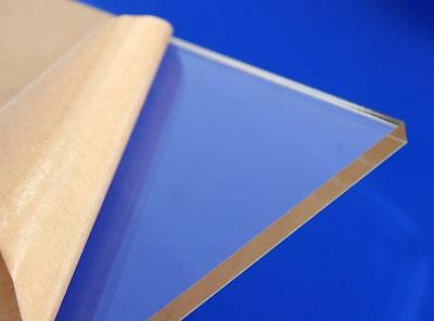 "Clear Acrylic Plastic Plexiglass Sheet High Density 1/8"" X 24"" X 24"""