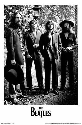 THE BEATLES - STREET LAMP POSTER - 22x34 MUSIC BAND GROUP 14357