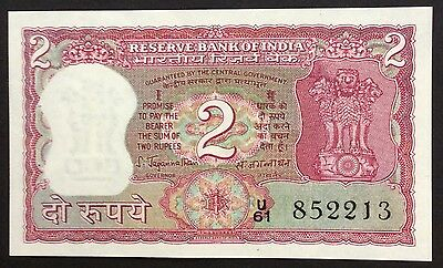 2 rupee India circulated condition - U61 852213