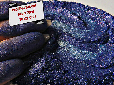 'Bright Blue Violet' Synthetic Grade Mica 10g CLOSING DOWN ALL STOCK MUST GO