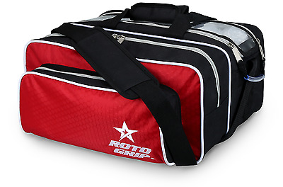 Roto Grip RED/BLACK 2 Ball Tote + Bowling Bag
