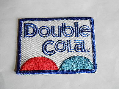 Vintage Double Cola Soda Advertising Cloth Patch