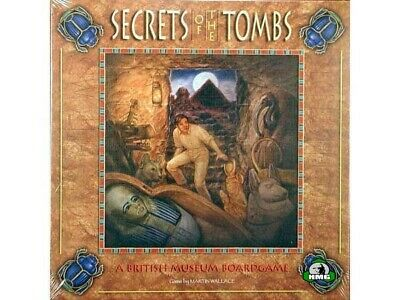 Secrets of the Tombs: A British Museum Boardgame (New)