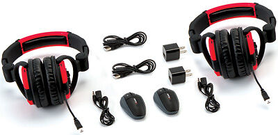 UClear Digital Dual Headset Communication Outdoor Off Road Adventure System