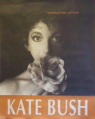 Kate Bush | The Sensual World - Original 1989 Release Poster
