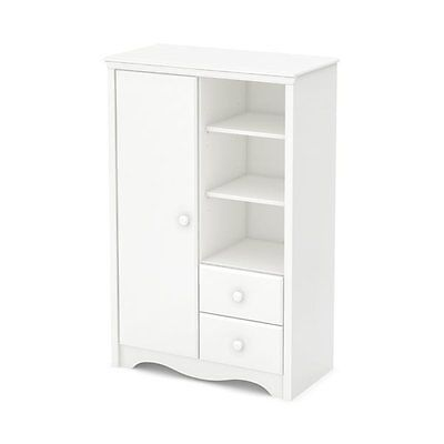 South Shore Furniture 3680038 Heavenly Armoire with Drawers