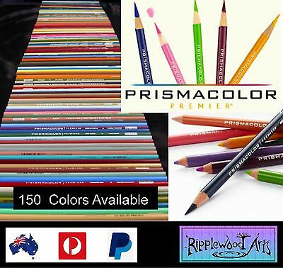 PRISMACOLOR PREMIER Colored Pencil - (150 Colors to choose from) - 1 Pencil