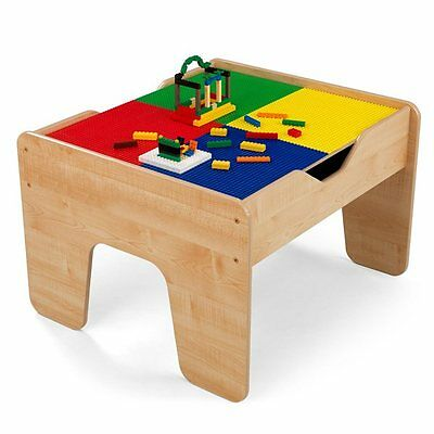 KidKraft 17576 2-in-1 Activity Table