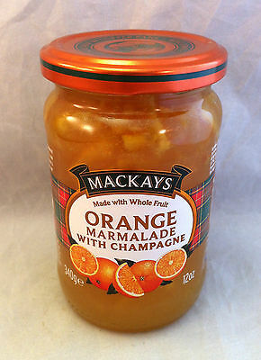 Mackays Schottische Marmelade Orange with Champagne 340g (100g/1,47€)