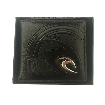 New with Box Rip Curl Men's Surf PU Leather Wallet  Xmas Gift #021