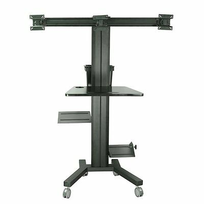 TygerClaw LCD8507 PC Cart with Screen Mount