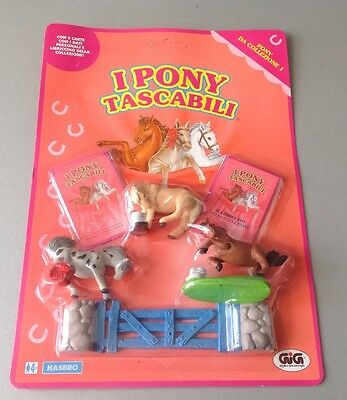 Vintage#1994 HASBRO PONY IN MY POCKET COLLECTION MOC CARDED