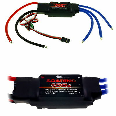 12A-100A Electronic Speed Controller ESC with BEC Brushless Motor  2-6 LiPO RC