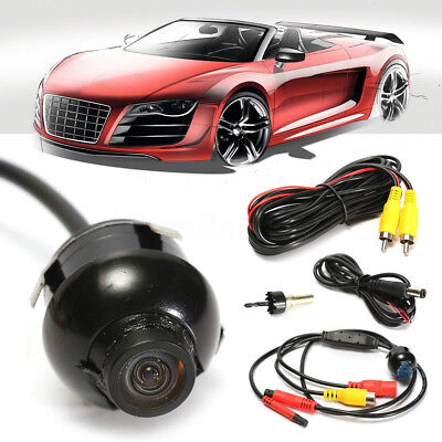 New Mini 360° CCD HD Car Front Side Rear View Parking Reverse Camera