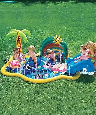 Banzai Baby Sprinkles Splish Splash pool Manley New