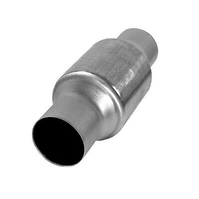 """AP Exhaust X26 Universal Catalytic Converter High-Flow Spun 2.5/"""" In//Out OBDII"""
