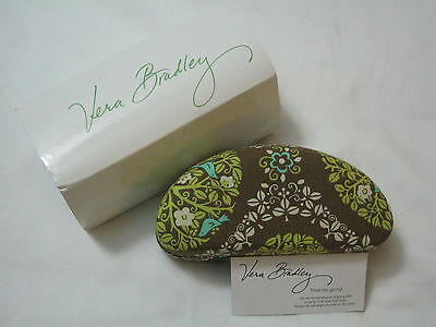 Vera Bradley SITTIN' IN A TREE Clamshell HARD EYEGLASSES SUNGLASSES CASE, NWT~