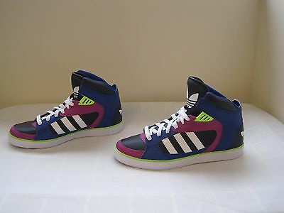 NEW! Women's  Adidas Originals Amberlight Sneakers Q20381 Sz 8.5 Blue/Wht/Pk 33T