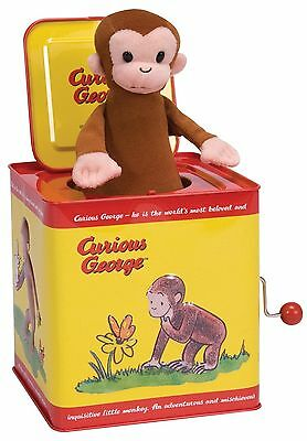 Curious George Jack in the Box Schylling New