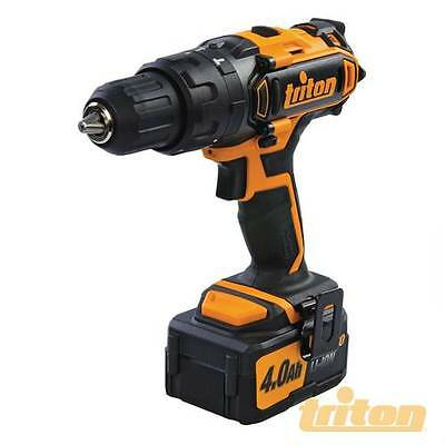 Triton T20 Combi Hammer Drill 20v  2 x Batteries FREE POST