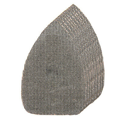 40 x Mesh Hard Wearing Mouse Sanding Sheets to Fit Detail Palm Sander All Grades