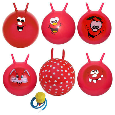 "21"" Large Kid Children Space Hopper Jump Bounce Ball Outdoor Fun Toy Girls Boys"