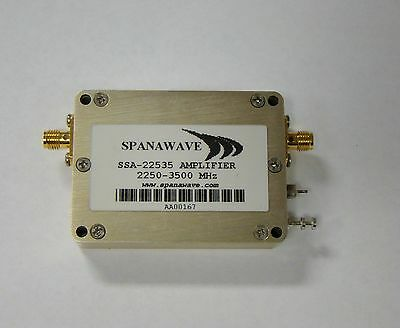 Spanawave SSA-22535 RF Amplifier 2250-3500 MHz