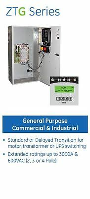 200A ZTG 277/480V 4 Pole Nema 3R Automatic Transfer Switch