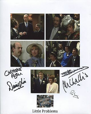 ONLY FOOLS AND HORSES 5 cast members multi signed 8x10 photo!