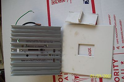 Lutron Nova N-1500 Slide Dimmer Switch