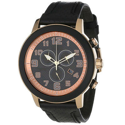 Citizen AT2233-05E Eco Drive BRT 3.0 Black Leather Band Chronograph Men's Watch