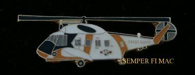 Hh-52 Seaguard Helicopter Us Coast Guard Hat Pin Up Helicopter Air Sea Rescue