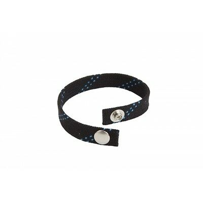 Original Hockey Lace Bracelet (black) Made in Canada