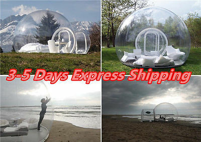 3.5M Stargaze Single Tunnel Outdoor Inflatable Bubble Transparent Camping Tent