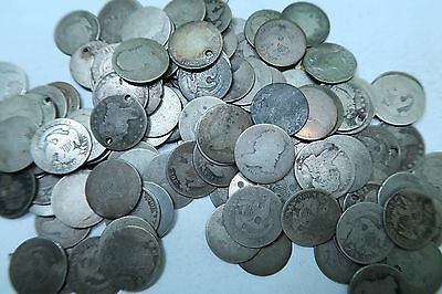 (1) Random 1809-1837 Capped Bust Dime // Low Grade-Cull