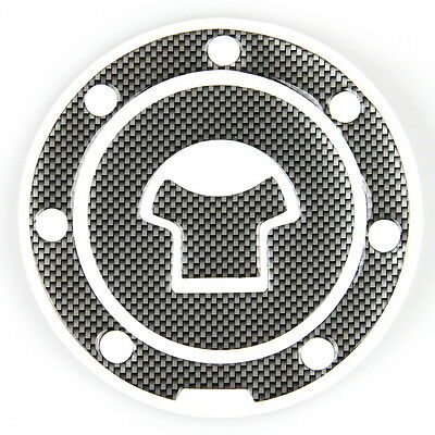 Gas Fuel Cap Cover Protector Sticker Universal Motorcycle Tank Pads Carbon Fiber