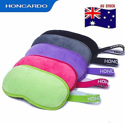 2PCS Soft Sleeping eye mask Blindfold Relex sleep travel cover