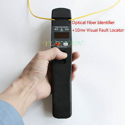 High Quality Live Optical Fiber Identifier Bulid 10 mv Viual Fault Locator