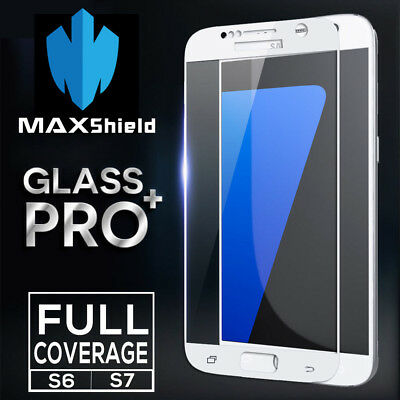 Tagg Full Screen Coverage Tempered Glass Screen Protector For Samsung Galaxy S7