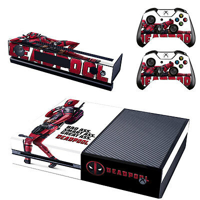 Sticker dsi wolf reflection skin console for Deco xbox one