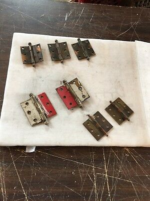 Hd 20 Three Sets Miscellaneous Antique Hinges