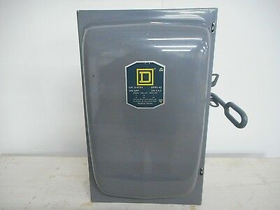 Square D D97314 200 Amp 240V 1Ph Fusible Indoor Disconnect Safety Switch