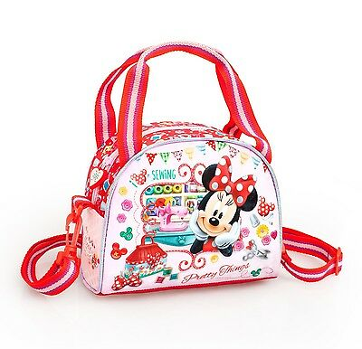 Minnie Mouse Cooler Lunch Bag Insulated School Girls Picnic Kids Disney Official