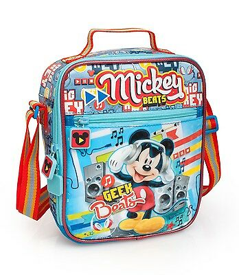 Mickey Mouse Cooler Lunch Bag Insulated School Girls Boys Picnic Kids Disney