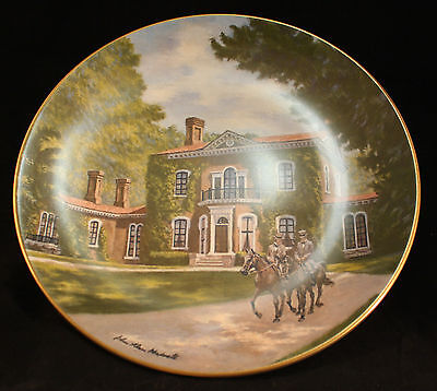 Gorham China - Limited Edition Plate #2240 of 9800 - Henry Clay's Home, ASHLAND