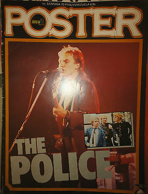 Poster: N.3 - The Police  !!!!!!!!!! (Spanish Magazine) Popular 1