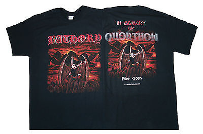 BATHORY In Memory Of Quorthon T SHIRT S-M-L-XL-2XL New Official Kings Road Merch